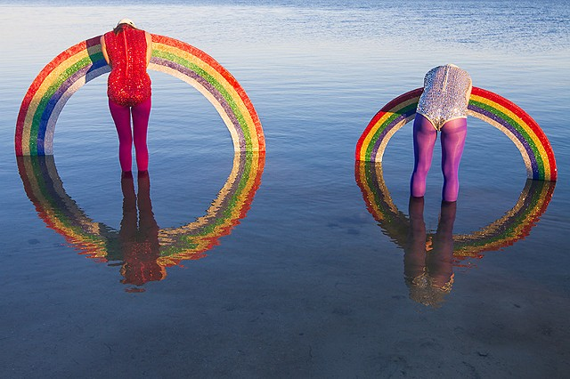 Untitled (Rainbows)