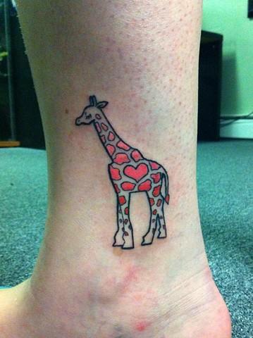 Kaitlyn's giraffe