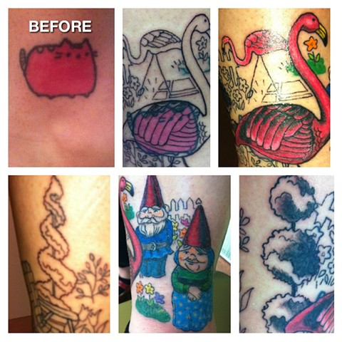 In progress cover-up