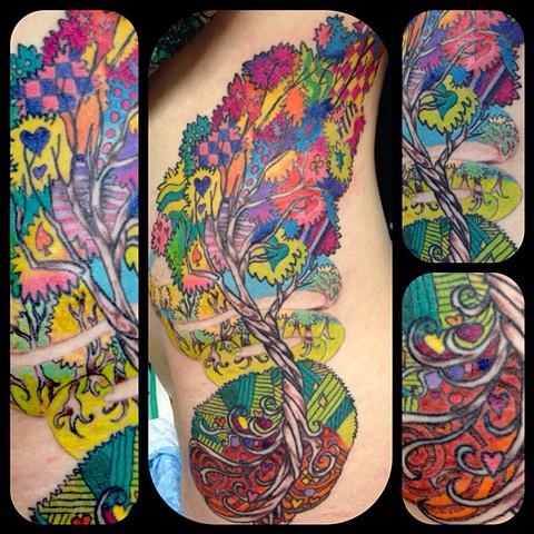 Kelsey's rainbow tree