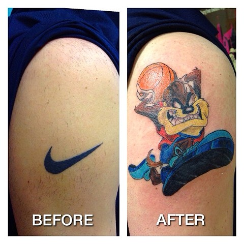 Cover-up Taz