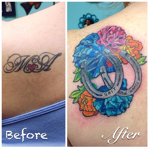 Cover-up for Marianne