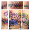 In-progress cover-up