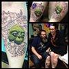 Yoda BFF tattoos
