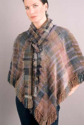 """""""Desert"""" Poncho and Scarf"""