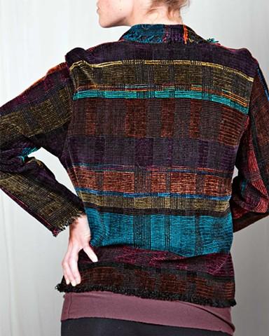 """""""Stained Glass"""" Fringe Jacket"""
