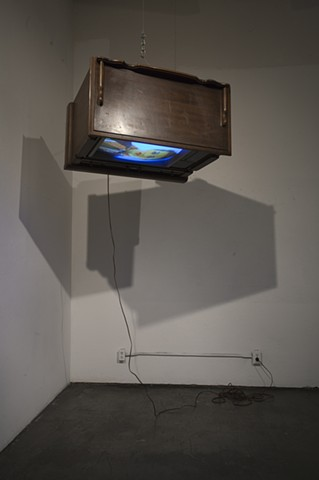 Suspended Television