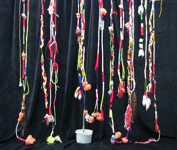 ropes, braids, wraps, curtain, stargayzer 2014