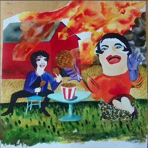 Dina Martina Eats Fried Chicken with Liza Minelli