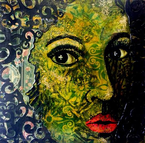 Self portrait as renaissance woman.