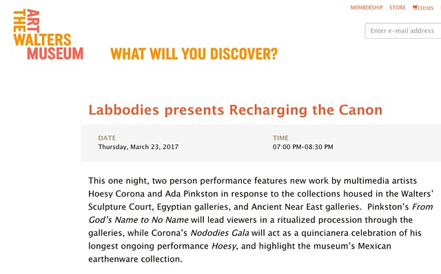 Labbodies | The Walters Art Museum | Recharging the Canon
