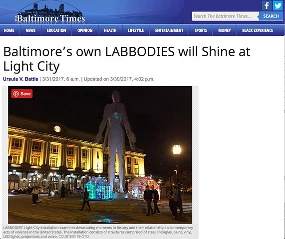 Labbodies in The Baltimore Times!