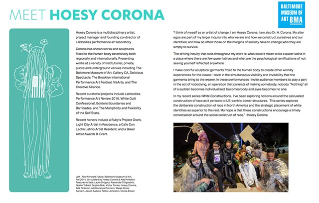 Big Table Connections| Body in Contemporary Art at the BMA | featuring Hoesy Corona
