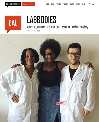 Labbodies + Creative Mornings Baltimore = Success!