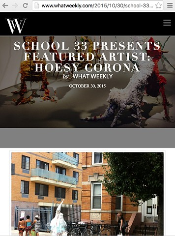 What Weekly | School 33 | Featured Artist 2015