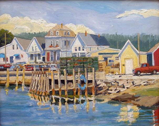 Town Dock, Vinalhaven - SOLD