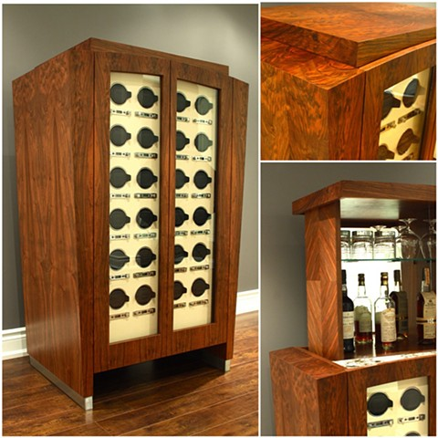 """Diego"" Watch Winder - 24 units in French Walnut"