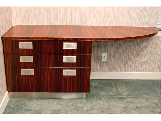 Custom furniture, credenza, built-in, office, cabinet, hand crafted, cabinet-maker, artisan, Toronto, unique, design, original