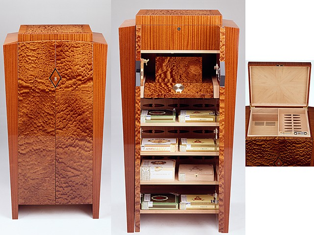 Custom furniture, humidor, cabinet, hand crafted, cabinet-maker, artisan, Toronto, unique, design, original