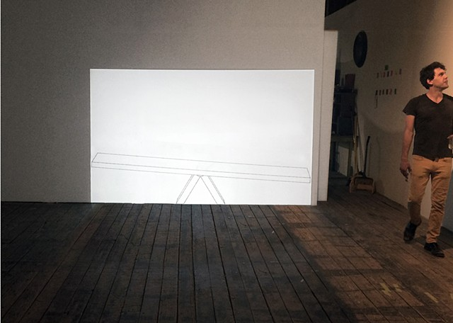 See/Saw (installation view)