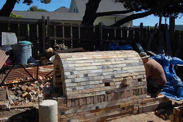 Small Wood Kiln