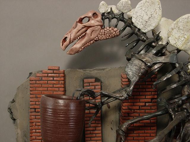 A Pottersaurus close-up