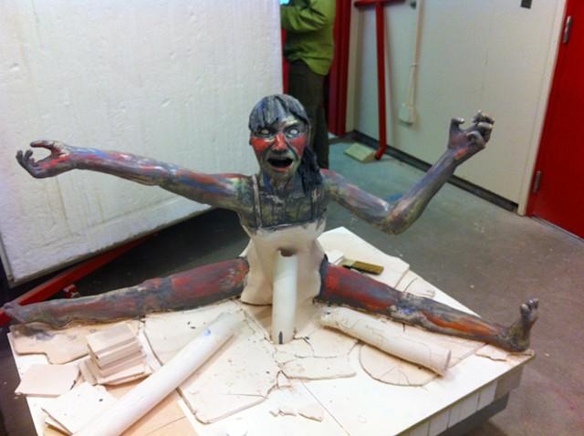 Large Scale Sculpture Tutorial Graduate Student