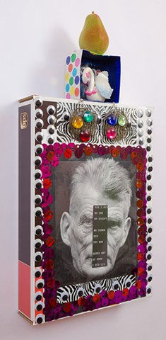 """BOXES """"Beckett With Earrings"""" Oblique View"""