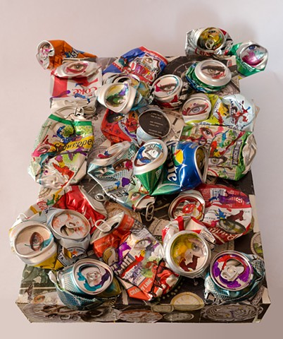 """CANNY  """"Cans & Watches""""  Top View"""