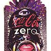 "CRUSHED CANS ""Coca-Cola Zero"""