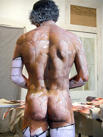 Wade 2 Digital c-print, museum board, foam core, polystyrene