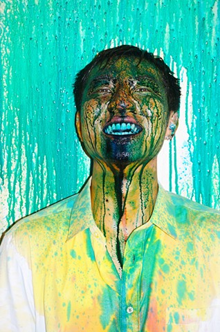 Areas for Action: Chengdu – Color Spit Duet  A4 Art Museum, Chengdu, China