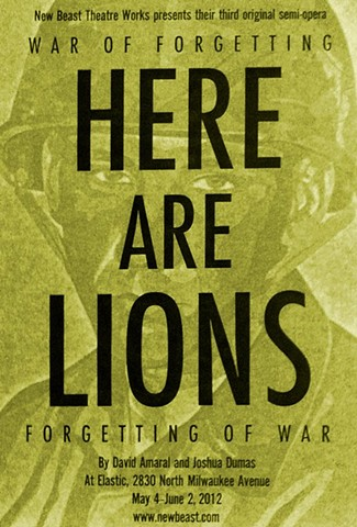 Poster for Here Are Lions