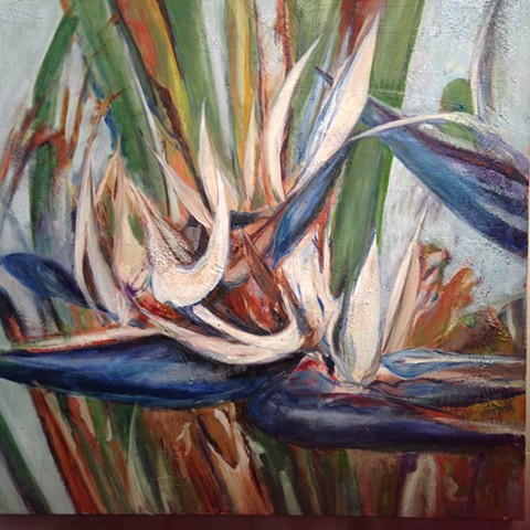 """Bird of Paradise series #1"""