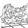 """UUA curriculum for ages 3-7 coloring page for the story """"The Empty Pot"""""""
