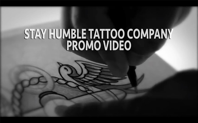 STAY HUMBLE SHOP PROMO VIDEO