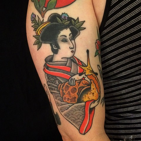 Japanese Geisha Tattoo