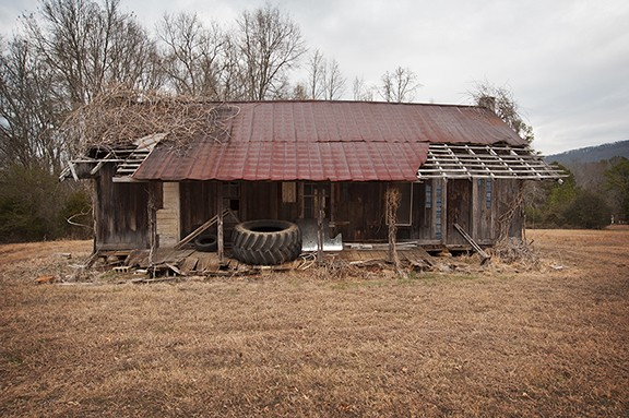 Old House Used As A Storage Building