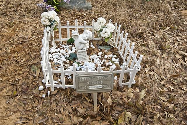 A Child's Grave Site