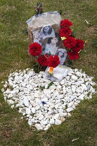 Headstone With Stones