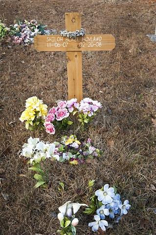 Wooden Cross In Zion Cemetery
