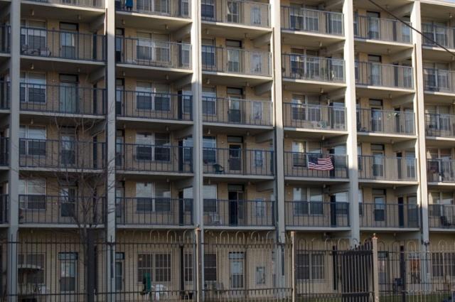 Flag On A Balcony