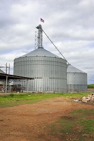 Grain Silo At Bragg Farms