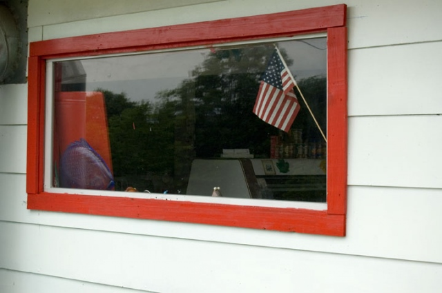 Flag In The Window