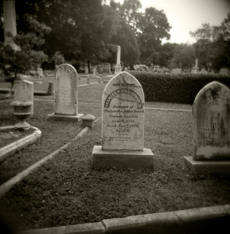 Consort Headstone