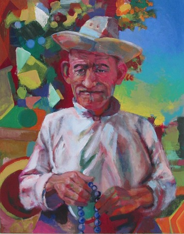 Life and the Imagination: Herder with Prayer Beads (Sold)
