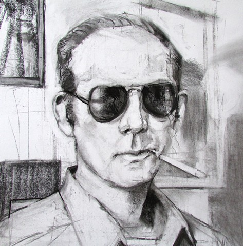 Found Photographs: Hunter S. Thompson (Sold)