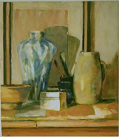 Tabletop Still Life (Sold)
