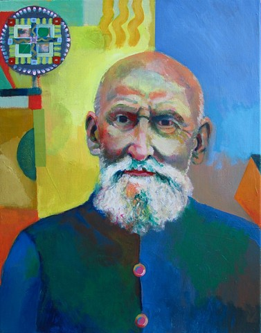 Life and the Imagination: Man with Mandala