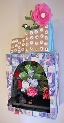Summer Flowers in a Vase (Tony Hawk Beach Motel)